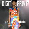 Print on Rayon Fabric (X1082)