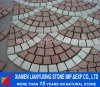 Fan-Shaped Style Paving Stone for Square Project