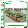Supermarket Stainless Steel Vegetable Rack
