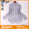Good Quliaty Cotton Fashion Stripe Clothing with Buttons
