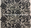Cotton Embroidery Lace Fabric (FL13812T)