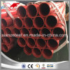 Ms Welded ERW Fire Hydrant Pipe with Grooved End and Red Painting