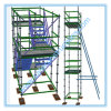 Powder Ringlock Scaffolding System for Construction