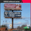 Outdoor Advertising Front Lit Billboard Structure