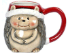 Novelty Ceramic Tea Cup Custom Coffee Mug for Christmas Gift