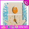 New Design Toddlers Educational Toy Wooden Puzzle Clock W14k008