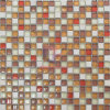 Kitchen Used Glass Mosaic Tile with Marble (CS008)
