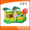 Yellow Coconut Inflatable Jumping Castle Combo for Amusement Park (T3-111)
