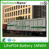 Lithium LiFePO4 Battery 1mwh for Energy Storage System