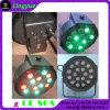 DMX RGB Auto LED Flat Light PAR RGB 18X1watt