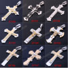 Hot Sale Stainless Steel Bible Cross Pendant Necklace, Stainless Steel Crucifix (st00000)