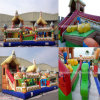 Hot Sale Egypt Funcity Inflatable Playground Inflatable Castles Inflatable Funcity