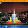Waterproof LED Light Stainless Steel Music Dry Fountain