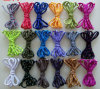 OEM Solid High Quality and Density Colorful Shoelace for Promotion