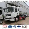 10cbm Dongfeng Hook Arm Lifting Type Rear Loading Euro 4 Garbage Truck