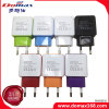 Mobile Phone EU Plug 2 USB Travel Power Adapter Charger