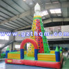 Outdoor Sport Durable Kids Inflatable Climbing Wall/High Quality Children Inflatable Rock Climbing