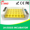 Hhd Special Design Holding 24 Chicken Eggs Automatic Mini Chicken Egg Incubator Sale