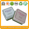 Square Soap Tin Box for Metal Gift Packaging Boxes