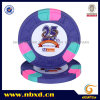 9.5g 3color Pure Clay M Engraved Sticker Chip (SY-C07-1)