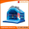 2017 New Deign Inflatable Jumping Castle Lovely Dolphin Bouncer (T1-005)