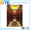 Ce Gearless Passenger Elevator with Wooden Decoration Cabin