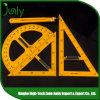 Popular Digital Measuring Ruler Custom Plastic Triangle Ruler