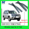 Car Window Vent Visor for Nissan X-Trail 2009-2011
