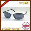 FM15606 Fashionable High Quality Promotional Metal Sunglasses with Blue Lens