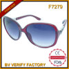 F7279 Fashionable Promotional PC Frame Sunglasses Custom Brand Logo Engraved