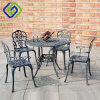 Anodized Aluminum and Wooden Outdoor Furniture