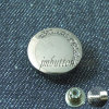 Custom Logo Nickle Metal Fix Button for Jeans Wear