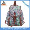 Sport Daypack Book School Drawstring Student Canvas Back Pack Bag