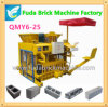 Qtm6-25 Big Capacity Automatic Hydraulic Concrete Movable Mobile Brick Machine