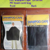 Disposable PE Shampoo Cape for Hair Salon