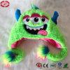 Plush Three Eyes Green Soft Comfortalbe Baby Gift Hat Toy