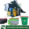 90HP Single Axis Shredding Machine for Waste Injtection Lump and Block