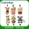 Cartoon Teddy Pendrive USB Flash Memory Jewelry USB Flash Drive