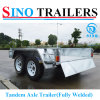 Top Sales Tandem Axle Box Trailer