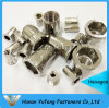 Stainless Steel Flat Head Inside&Outside Hexagon Rivet Nut