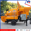 70m Pumping Distance in Vertical Mobile Concrete Mixing Pump