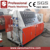 100-350mm PVC/PP/PE Single Wall Corrugated Pipe Extrusion Line