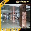 Decorative Embossed Finish Stainless Steel Square Column Cladding