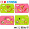 Snail Shape Table Plate Silicone Colorful Plate for Baby Feeding