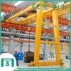 Indoor and Outdoor Machinery Double Girder Semi-Gantry Crane