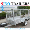 8X5 Heavy Duty Trailers with Cage