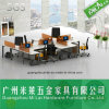 Modern Design Open Modular Office Wooden Computer Table Furniture