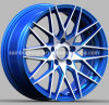 Blue Wheel, Aftermarket Wheel, Customed Rim