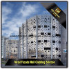 Modern Fabricated Aluminum Sheet Perforated Facade Panels for Wall Cladding