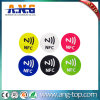 Round 25mm Ntag213 NFC Tag Sticker Label with 3m Adhesives